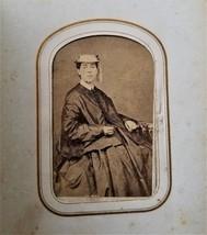 antique PHOTOGRAPH ALBUM norristown pa soldier civil war lincoln CDV TIN... - $375.00
