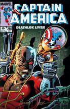 Mike Zeck SIGNED Marvel Comics Avengers Art Print Captain America #286 Deathlok - $34.64
