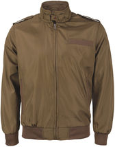 Men's Athletic Lightweight Water Resistant Slim Fit Racer Jacket image 15