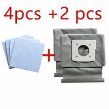 4 * motor baumwolle filter + 2 * Waschbar LG staubsauger taschen staub t... - $16.67