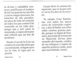Novena en Honor a La Santa Cruz image 2