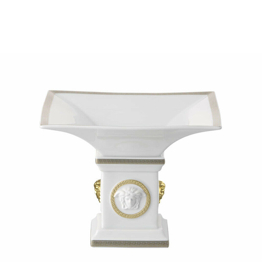 Primary image for Versace by Rosenthal Decoration GorgonaCandy bowl on foot  19.5 cm/7.6""