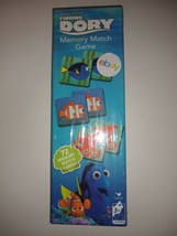 Disney's Pixar Finding Dory 72 Memory Match Game Cards Nemo Age 3+ Seale... - $2.99