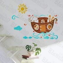 Elephant's Ship - Wall Decals Stickers Appliques Home Dcor - $7.91