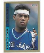 1993 Fleer Team Leaders AL #9 Roberto Alomar NM-MT Blue Jays - $1.95