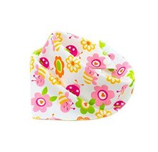 Adjustable,4Pcs Baby Neckerchief/Saliva Towel For Baby,Pure Cotton