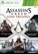 Assassin's Creed - Ezio Trilogy Edition xbox 360 Video Game Brand New Ki... - $29.87