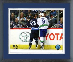 Brandon Tanev & Christopher Tanev 2016-17 Action - 11x14 Matted/Framed Photo - $42.95