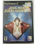 Star Wars Jedi Starfighter PS2 Game 2002 LucasArts Playstation 2 - $7.69