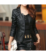 Awesome Black Looking Partywear Coat Made On Order For All Sizes Women - $175.99 - $205.99