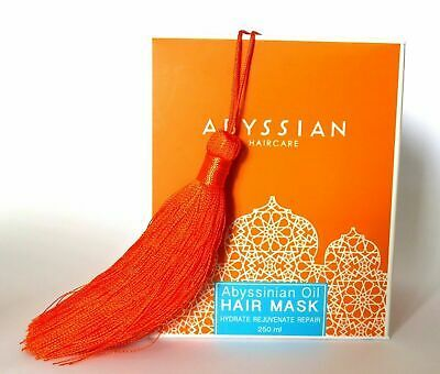 250 ml / 8.4 Fl Oz Abyssian Abyssianian Oil Hair Mask For Dry Damaged Hair