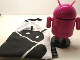 I Home Pink Robo Rechargeable Mini Speaker Ri-26 Has Storage Bag/No Cords - $4.94