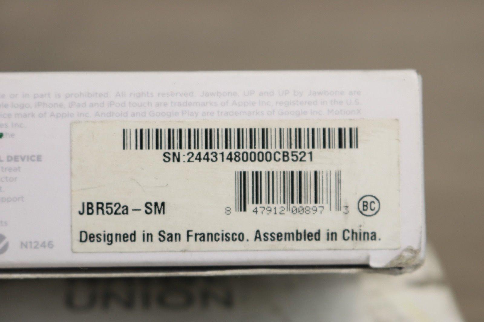Jawbone JBR52a-SM Small-Onyx
