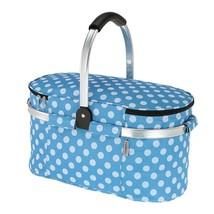 TOMSHOO 30L Foldable Picnic Basket Insulated Storage Shopping Basket Fol... - $748,52 MXN