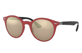 Ray-Ban Sunglasses RB4296 6345/5A 51 Matte Red w/ Brown/Gold Mirrored Lens - $111.57