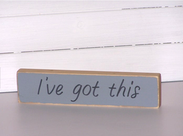 Small Wood Desk Plaque, Office Decor Sign, Fun Cubicle Quote, Paper Wei... - $8.95