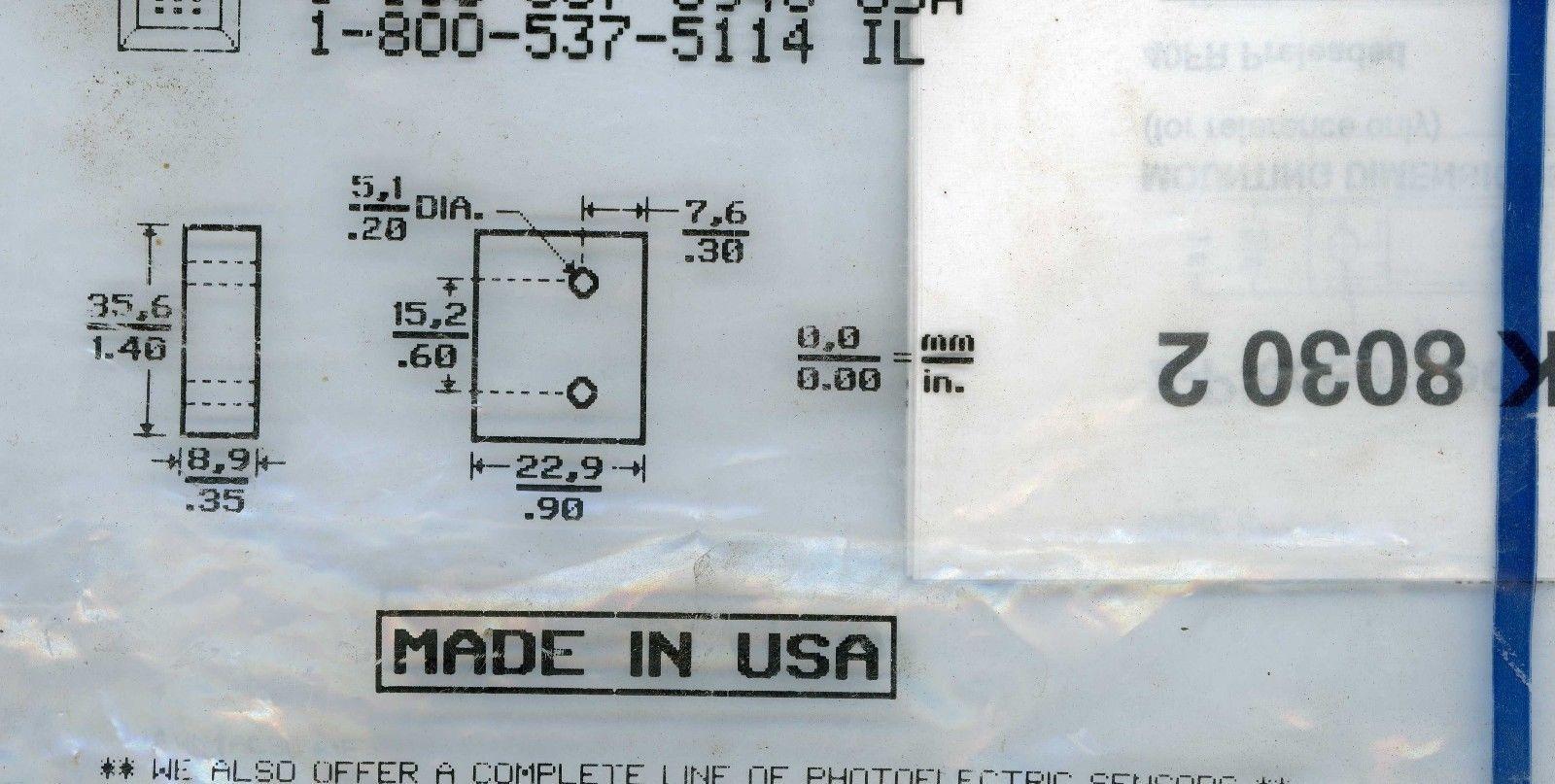 Honneywell / Micro switch Proximity Sensors. and similar items