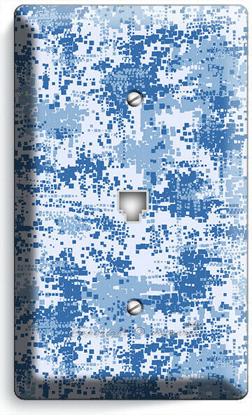 MILITARY NAVY MARINES PIXELATED WAR CAMO PHONE TELEPHONE  COVER PLATE ROOM DECOR