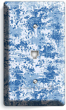 MILITARY NAVY MARINES PIXELATED WAR CAMO PHONE TELEPHONE  COVER PLATE RO... - $10.79