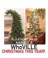 WhoVILLE 8ft. BENDABLE ALPiNE TREE ~ WhoVILLE GRINCH CHRISTMAS TREE! FUN! - $189.95