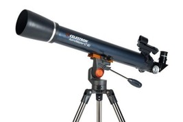 Celestron AstroMaster LT 60AZ Refractor No-Tool Setup Refracting Telesco... - $74.24