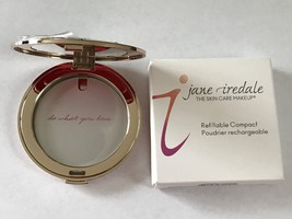 Jane Iredale Empty Refillable Compact Rose Gold - $15.00