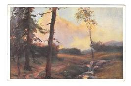 Artist Signature W L? Landscape Trees Austris AK BKWI Serie 720/2 Postcard - $4.99
