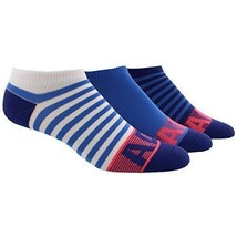 Adidas Superlite CC II No Show Sock 3 Pack White/Ray Blue/Unity Ink WM's... - $18.74