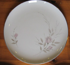 Mikasa Fine China 'my Love' #8243 Japan Dinner Plate Pink Rose On White - $6.50