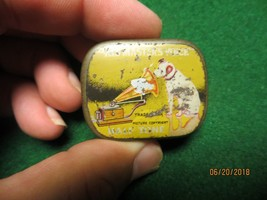 Rca Victor His Masters Voice Half Tone Tin With Needles The Gramophone Co. - $42.75