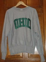 Vintage Ohio University OU Bobcats Champion Reverse Weave Sweatshirt USA - $74.79
