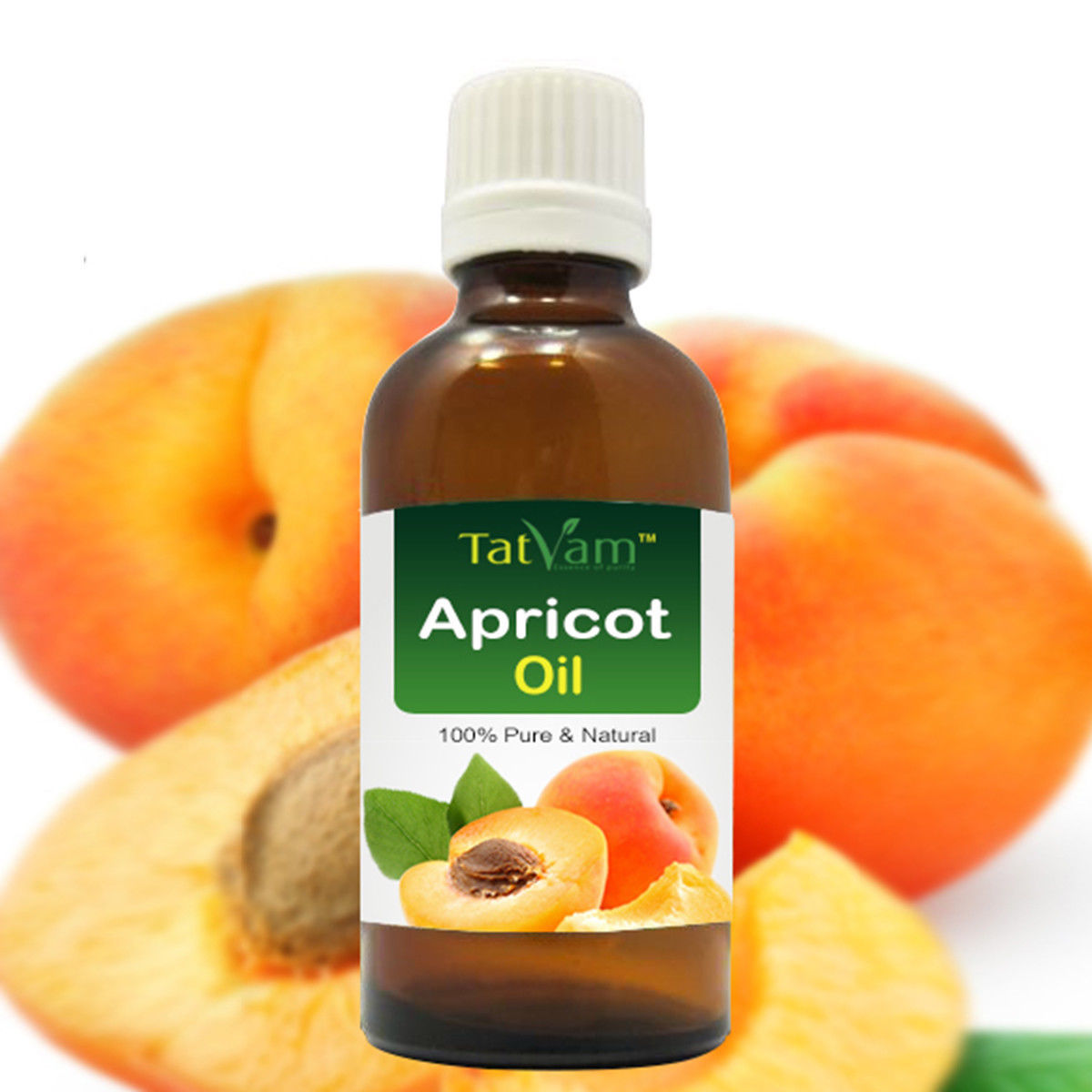 Primary image for Apricot Oil 100% Natural Pure Undiluted Uncut essential Oil 30ml