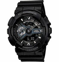 Casio G-Shock Analog-Digital Black Dial Men's Watch - GA-110-1BDR (G317) - $163.58