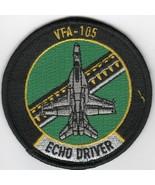 USAF AIR FORCE VFA-105 GUNSLINGERS ECHO BABY BULLET EMBROIDERED JACKET P... - $18.99