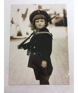 Tsesarevich Alexis On The Yacht Standart Russian Royalty Family Postcard... - $1.70