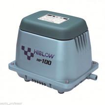 HIBLOW HP-100-LL LONG LIFE HD NEW SEPTIC AIR PUMP POND AERATOR DIY - $434.99