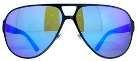 Gucci GG2252/S R63/Z0 Semi Matte Navy Blue Men's Aviator Sunglasses - $175.88
