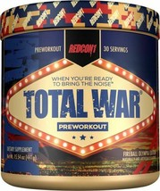 Redcon1 TOTAL WAR Extreme Pre-Workout & Energy Formula, PICK Flavor, New!! - $29.05+