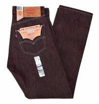 Levi's 501 Men's Original Fit Straight Leg Jeans Button Fly 501-1207 image 4