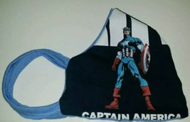 Last 1》Marvel Captain America 2-in-1 Fabric Face Mask》Reversible, Reusable》Os - $13.94
