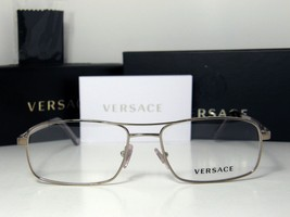 New Authentic Versace Eyeglasses VE 1190 1296 VE1190 Made In Italy MMM - $168.25