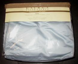 Ralph Lauren Prescott Full Sheet Set 500TC Supima Cotton Sateen Blue Sky... - $189.99