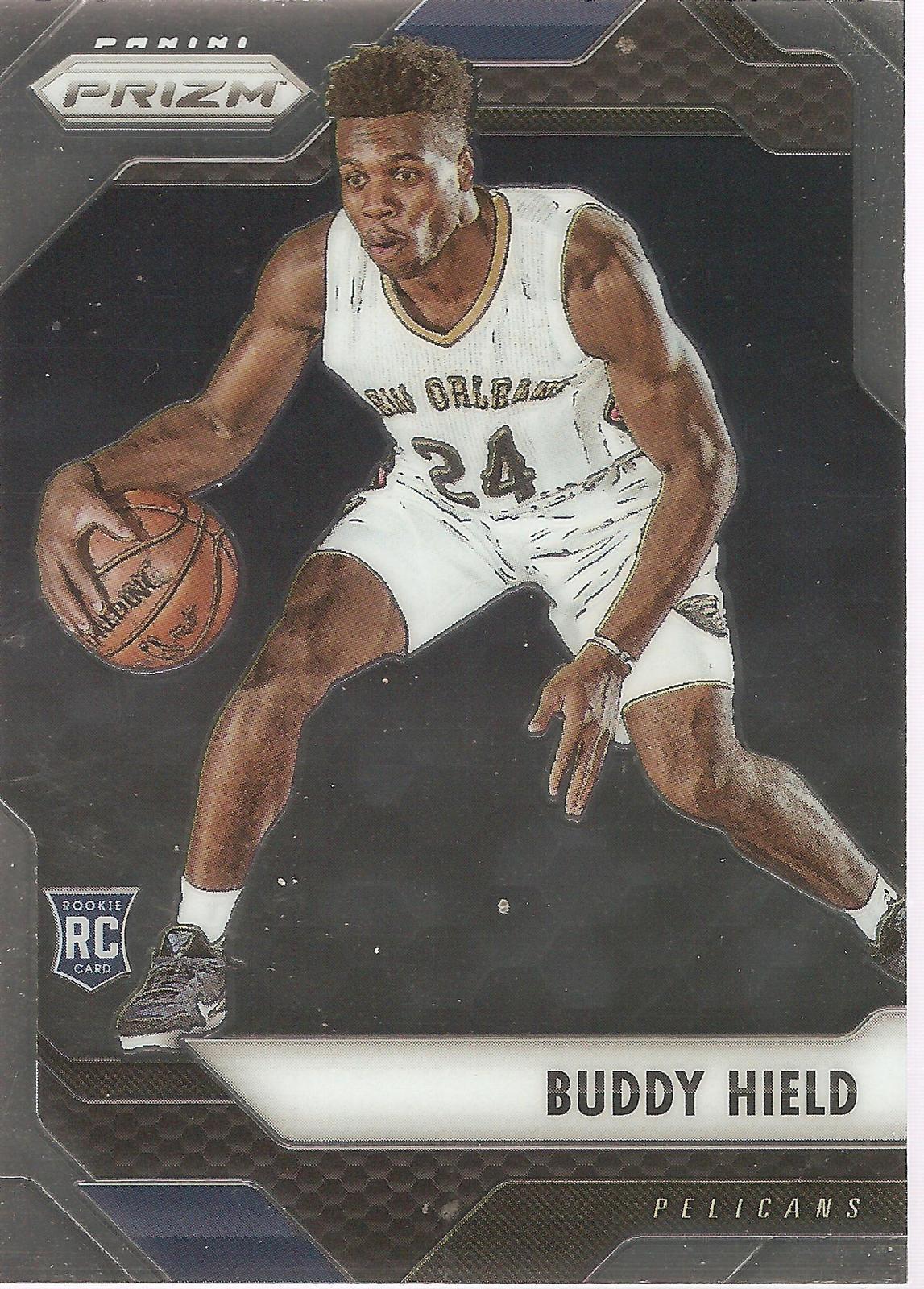 Buddy Hield Prizm 16-17 #192 Rookie Card New Orleans Hornets Sacramento Kings