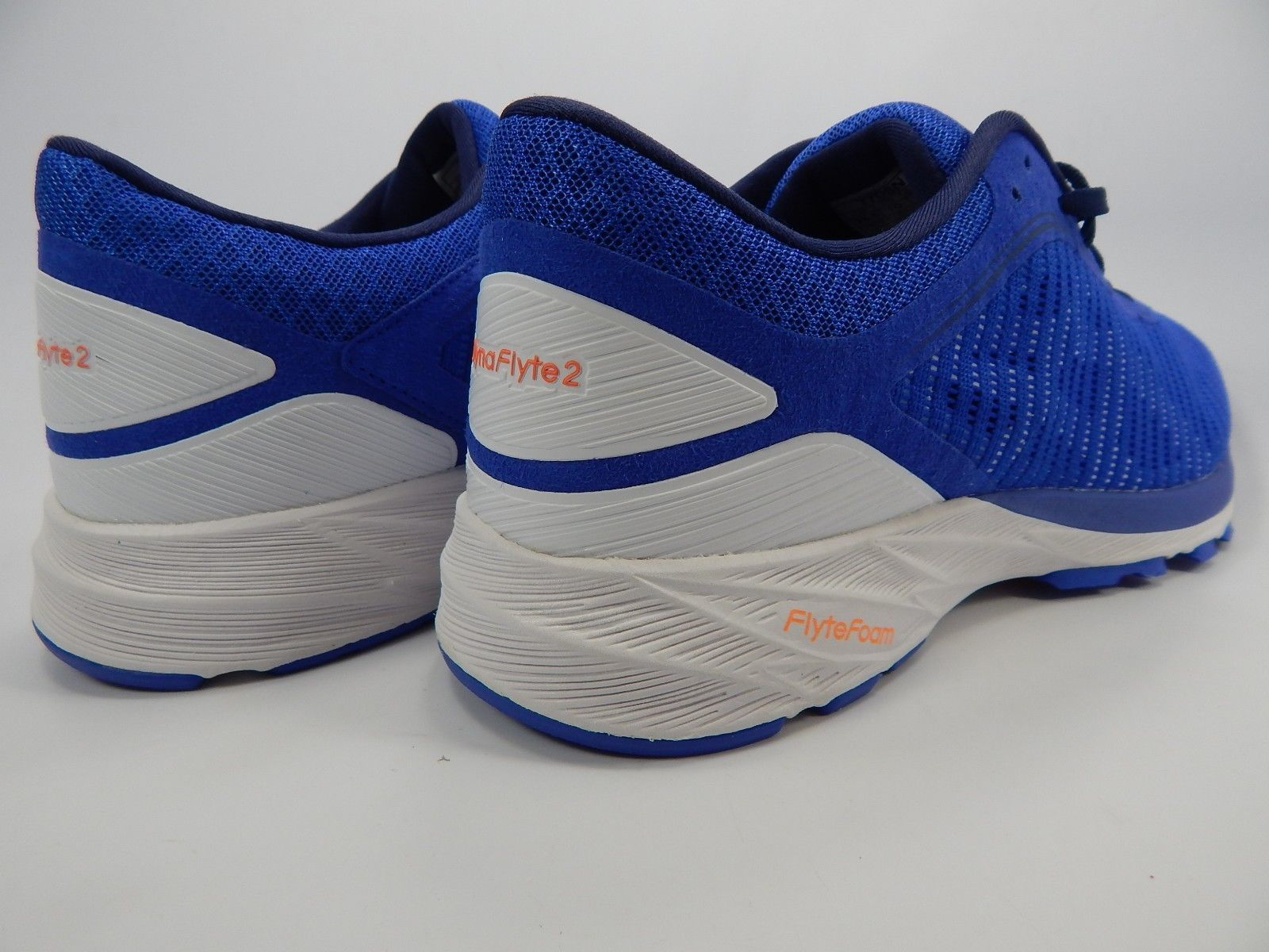 Asics Dynaflyte 2 Size 10 M (B) EU 42 Women's Running Shoes White Blue T7D5N