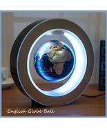 (Shape C)And(Shape O)4 Inch Magnetic Levitation Floating Globe Map w/LED... - $28.67