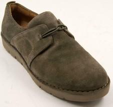 Clarks Un Ava Khaki Suede Shoes Slip On Brown Women's Shoes Sz 9 M - $52.24