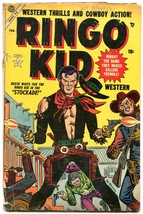 Ringo Kid #4 1954- Maneely- Atlas Western G - $47.92