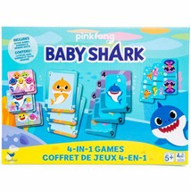Baby Shark™ 4-in-1 game set w - $14.99