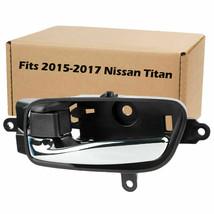 For 2015 2016 2017 Nissan Titan Interior Car Door Handle Front Rear - $9.99