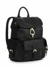 No Boundaries Black Cargo Faux Leather Women Ladies Backpack Black Purse... - $26.85